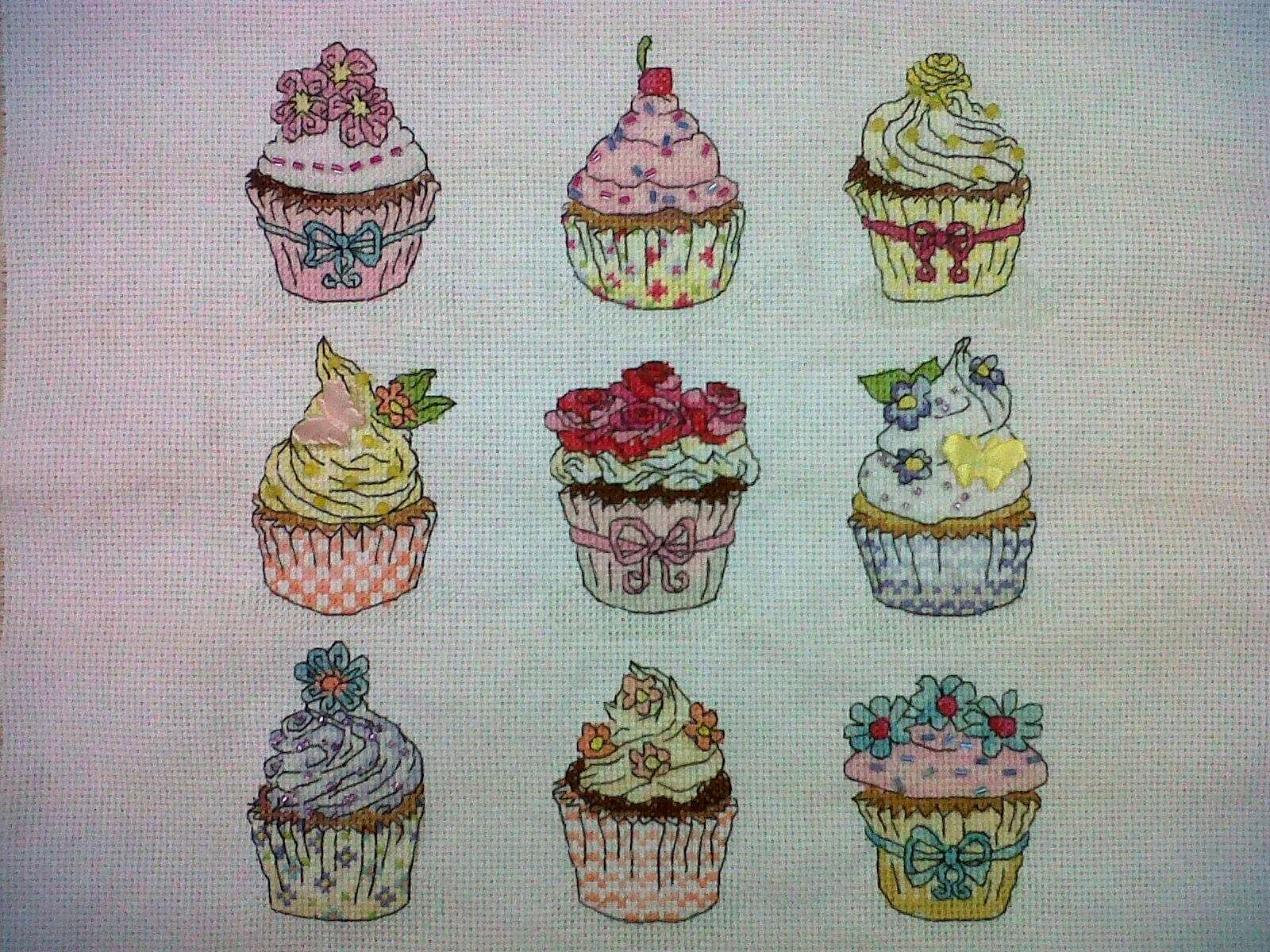Схемы сладостей для вышивки